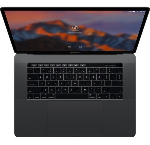 Apple Macbook Pro 15.4 Retina Touch Bar Late 2016, Spacegray