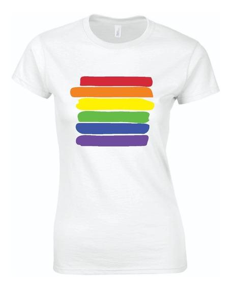 Playera Mujer Lesbiana Gay Orgullo Pride 2