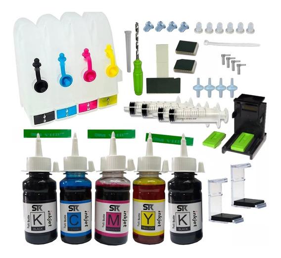 Bulk-ink 600 Ml Tinta Impressoras Hp Psc 1210 1315 1410 1510