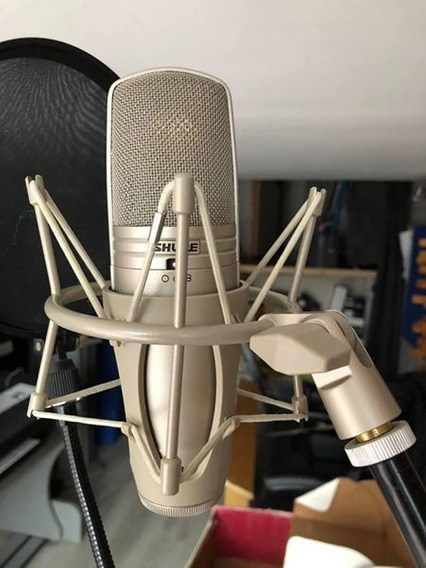 Microfone Shure Studio Profissional
