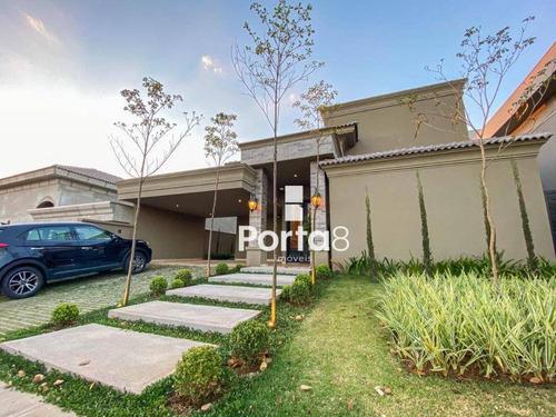 Casa À Venda, 300 M² Por R$ 3.300.000,00 - Residencial Quinta Do Golfe Jardins - São José Do Rio Preto/sp - Ca2907