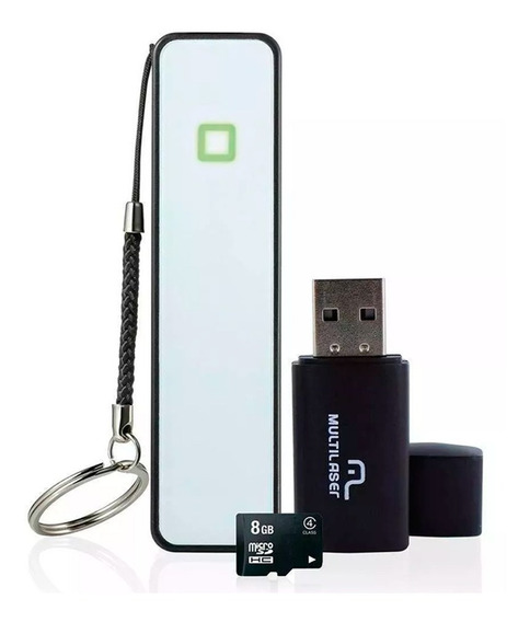 Kit Smartphone: Power Bank+pendrive+cartao De Memoria-mc200-