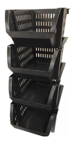 Imagem 1 de 5 de 12 Cestos Mini Lojas Fabricante Caixa Empilhavel Mini Fabrica De Plástico No Brás