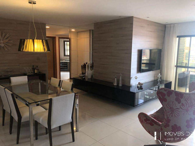 Apartamento Com 3 Dorms, Jatiúca, Maceió - R$ 620 Mil, Cod: 92 - V92