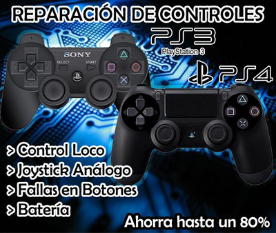 Reparación De Controles De Ps3, Ps4 Y Nintendo Switch