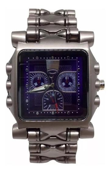 Relógio Minute Machine 12 Pino Promoção Masculino