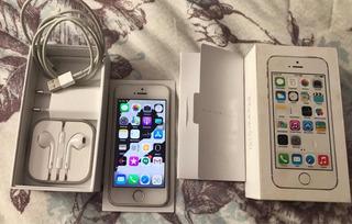 iPhone 5s Prata 16g Desbloqueado!