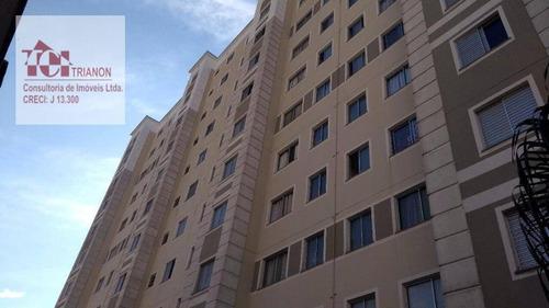 Apartamento Com 2 Dormitórios À Venda, 45 M² Por R$ 230.000,00 - Parque São Vicente - Mauá/sp - Ap3060