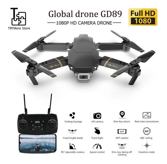Drone Com Câmera Hd 1080p Gw89 Global Drone