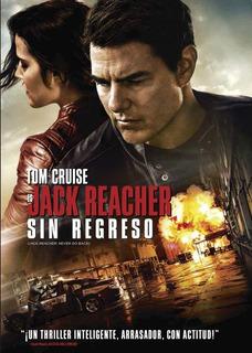 Dvd - Jack Reacher Sin Regreso
