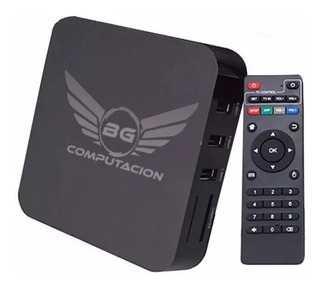 Convertidor Smart Tv Box Convertir Android Tv 8gb 4k Cuotas