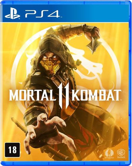 Mortal Kombat 11 Ps4 Com Dlc Midia Fisica - Pronta Entrega