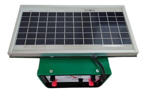Boyero 12v 120 Km 4,8j 450ma Panel Solar 20 W Cable Soporte