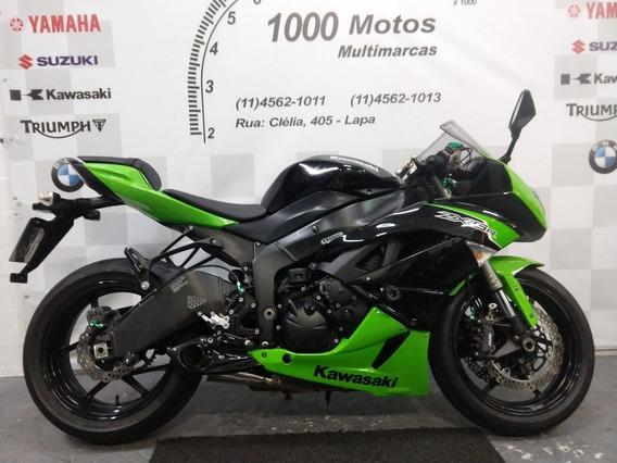 Kawasaki Ninja Zx 6r 2011 Otimo Estado Aceito Moto