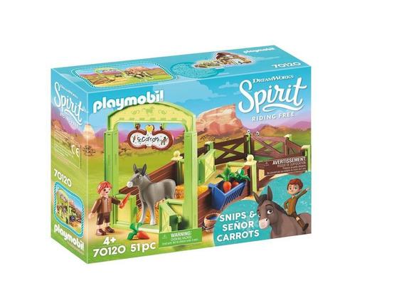 Playmobil 70120 Establo Del Señor Zanahoria