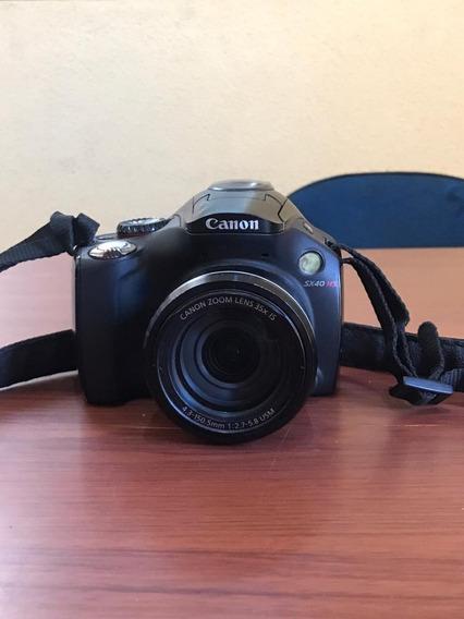 Camêra Semiprofissional, Canon, Sx40hs