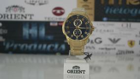 Orient Multifunção 100mts, 47mm - Mgssm025