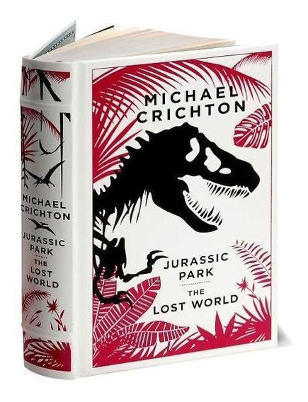 Jurassic Park And The Lost World Leather Bound
