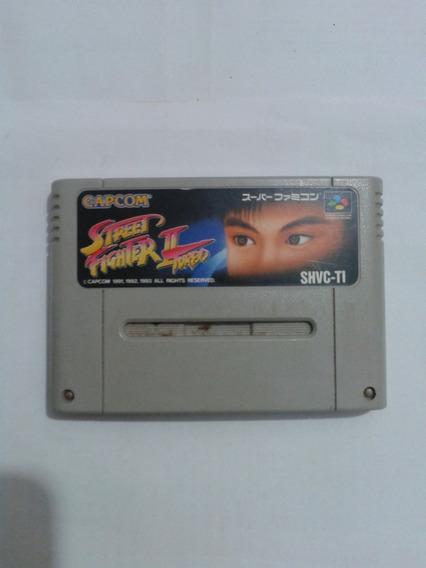 Street Fighter 2 Turbo Original Super Famicom