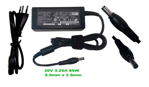 Carregador Para Notebook Lenovo Ideapad Y310 20 Volts Po2004