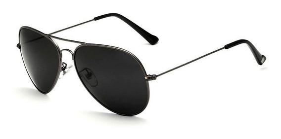 Oculos De Sol Aviador Police Lentes Polarizadas Uva E Uvb