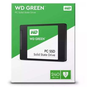 Hd Ssd Wd Green 240gb 540mb/s Sata 3 Novo Lacrado