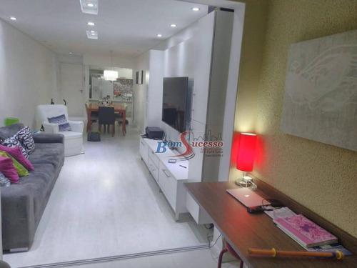 Imagem 1 de 23 de Apartamento Com 3 Dormitórios À Venda, 98 M² Por R$ 780.000,00 - Tatuapé - São Paulo/sp - Ap2494