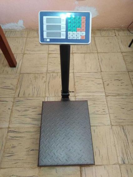 Báscula Digital 300 Kg Plataforma 40cmx50cm