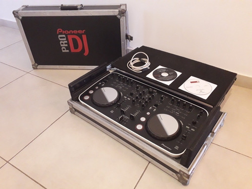 Controlador Pioneer Ddj-ergo Pro + Anvil + Virtual Dj Orig.