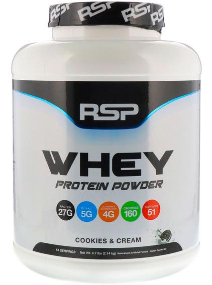 Proteina Rsp Whey Powder Sabor Cookies & Cream