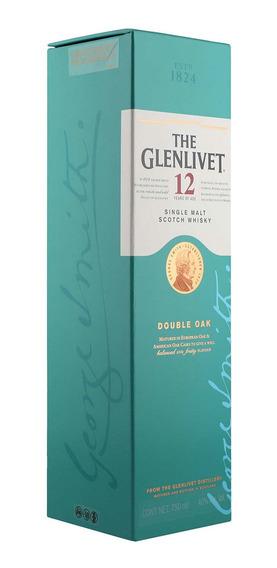 Whisky The Glenlivet 12 Años 750 Ml