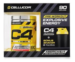 C4 90 Servicios + Shaker / Entrenamiento Más Explosivos