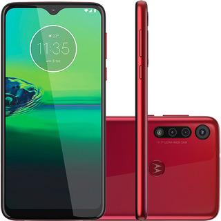Smartphone Motorola Moto G8 Play 32gb Vermelho Magenta