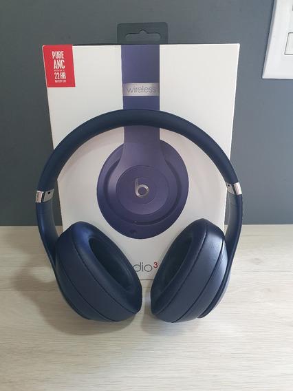 Fone De Ouvido Beats Studio 3 Wireless (azul)
