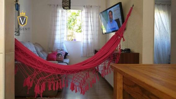 Apartamento Residencial Alpha Com 2 Dormitórios À Venda, 54 M² Por R$ 170.000 - Recanto Quarto Centenário - Jundiaí/sp - Ap1236