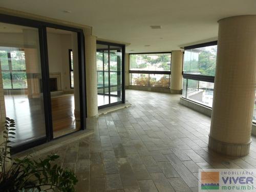 Imagem 1 de 15 de Penthouse 420m² De Conforto E Segurança - Nm2483