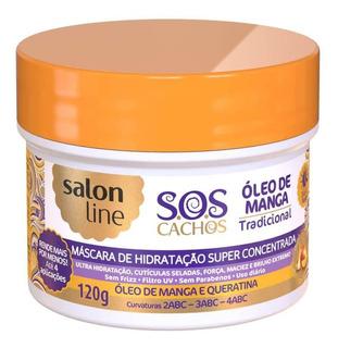 Salon Line S.o.s Cachos Óleo Manga Máscara Capilar 120g