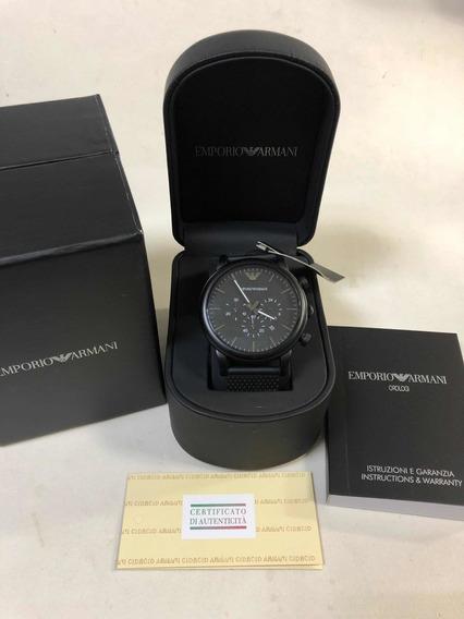 Relógio Emporio Armani Ar1968 Pvd Com Caixa E Garantia