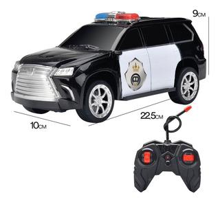 Auto Radio Control Camioneta De Policia Envio Full (22050)