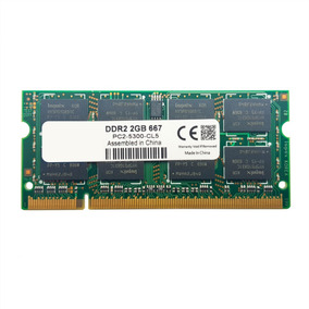Kit 4gb Memória Notebook 5300s 667mhz Nova Nfe Ddr2 2 X 2gb