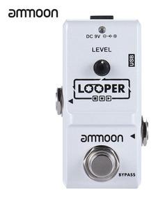 Ammoon Ap -09 Nano Série Laço Pedal Efeito Guitarra Elétrico