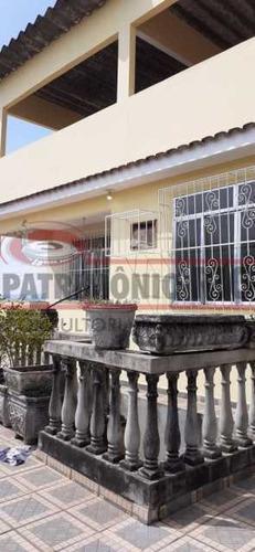 Espetacular Casa Com Terraço, 3quartos, 2vagas De Garagem - Pavuna - Paca30557