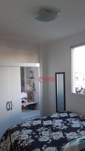 Imagem 1 de 14 de Apartamento Com 3 Dormitórios À Venda, 71 M² Por R$ 233.200,00 - Parque Campolim - Sorocaba/sp - Ap0354