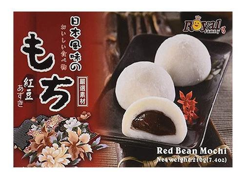 Imagen 1 de 4 de Dulce Japones Mochi Red Bean / Frijol Dulce