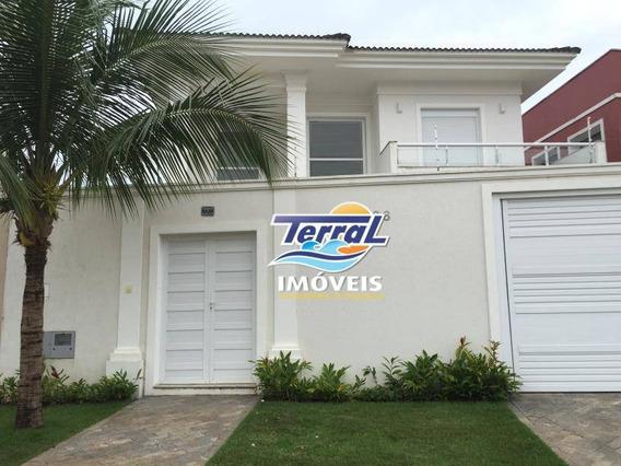 Casa Residencial À Venda, Balneário Praia Do Pernambuco, Guarujá. - Ca1213
