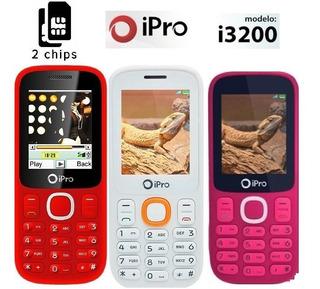 Celular Ipro I3200 Para Idoso Dual Rádio Fm - Original