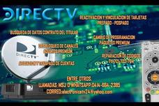 Reactivacion Directv Y Vinculacion De Tarjetas
