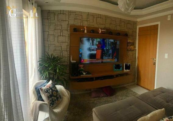Kitnet Com 1 Dormitório À Venda, 55 M² Por R$ 122.000,00 - Jardim Real - Praia Grande/sp - Kn0317