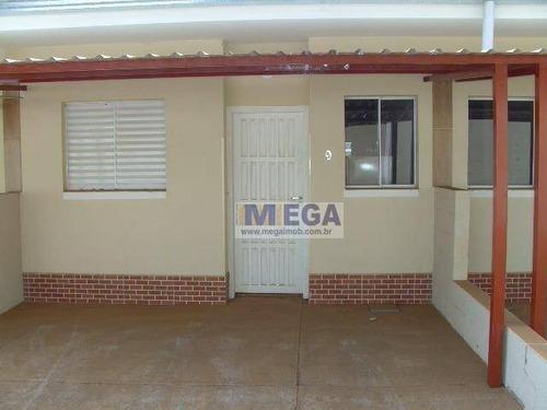 Casa Com 2 Dormitórios À Venda, 55 M² Por R$ 250.000,00 - Barão Geraldo - Campinas/sp - Ca1271