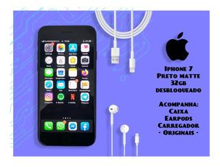 Apple iPhone 7 Preto Matte 32gb